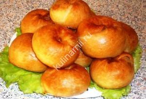 бабушкины слоистые пирожки фото