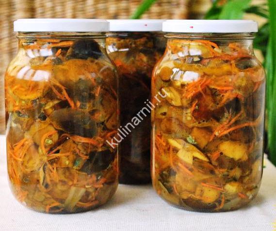 грибы по-корейски рецепт с фото