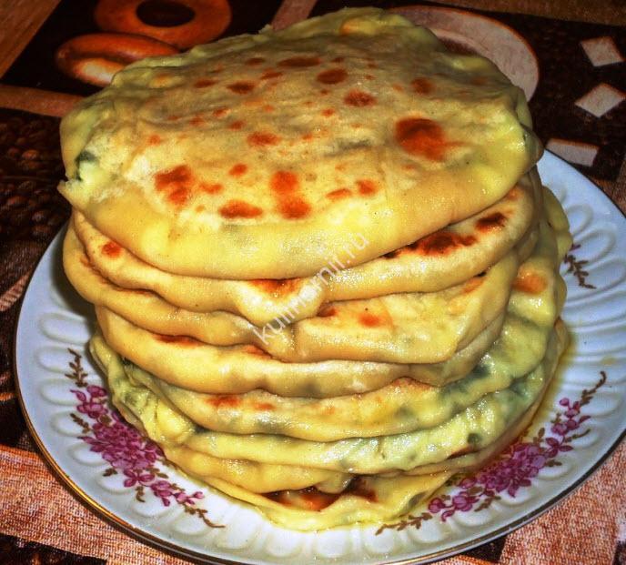 хычины балкарские рецепт с фото