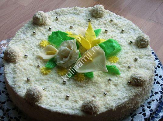 Торт Рафаэлло в домашних условиях рецепт