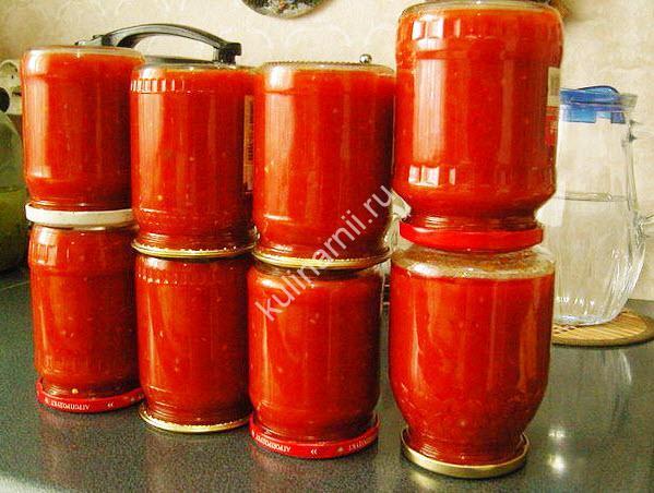 рецепт домашнего кетчупа