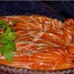 Как засолить рыбу фото