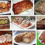 рецепты мясного рулета фото