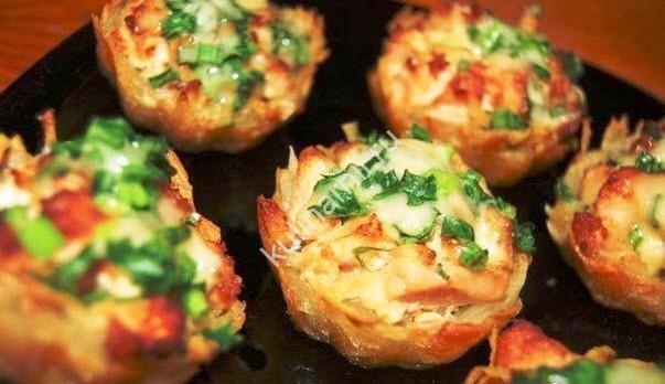 Тарталетки из картофеля фото