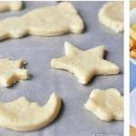 Детское творожное печенье фото