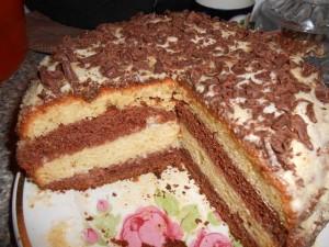 торт на кефире фото
