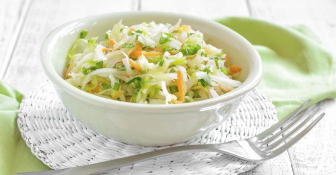 Салат из капусты морковь