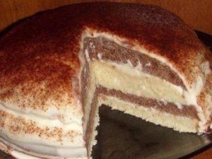 Рецепт очень нежного и вкусного тортика на кефире