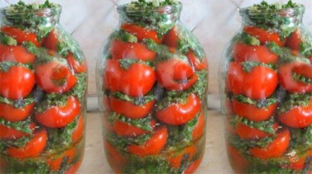 Вкусные помидоры по-корейски