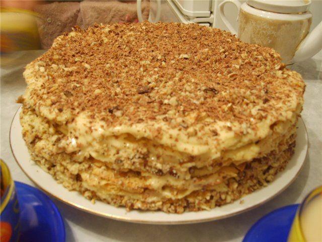 Быстрый и очень вкусный тортик «Без заморочек» и без выпечки
