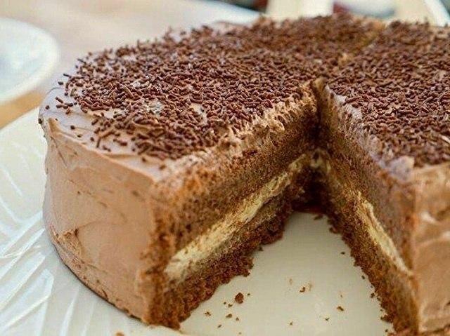 Доступный и вкусный домашний тортик на День Рождения!