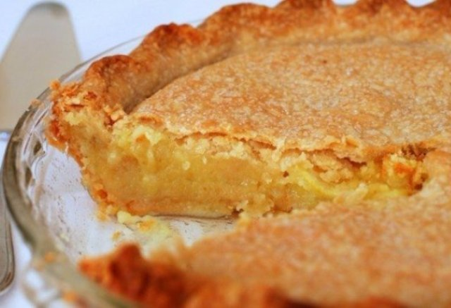 Очень нежный лимонный пирог.