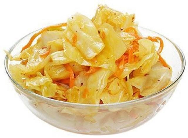 Рецепт маринованной капусты по-корейски