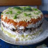 Салат «Лисья шубка»