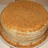 Торт Сметанник на скорую руку