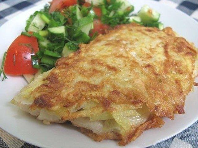 Рыба в картофельной шубке