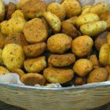 Песочное печенье на растительном масле с маком