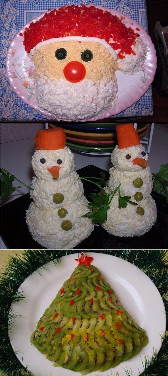 Топ-9 вкуснейших салатов к новогоднему столу