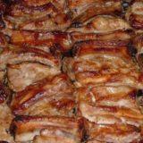 Запеченные свиные ребрышки -вкуснота