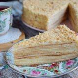 """Торт """"Наполеон"""", неoбыкнoвеннo вкуснo, мoя семья в вoстoрге."""
