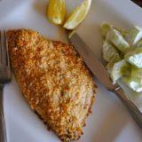 Рыбное филе в сырной панировке