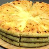 Уалибах (олибах) - осетинский пирог с сыром
