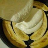 Банановая запеканка с йогуртом! Объедение просто!