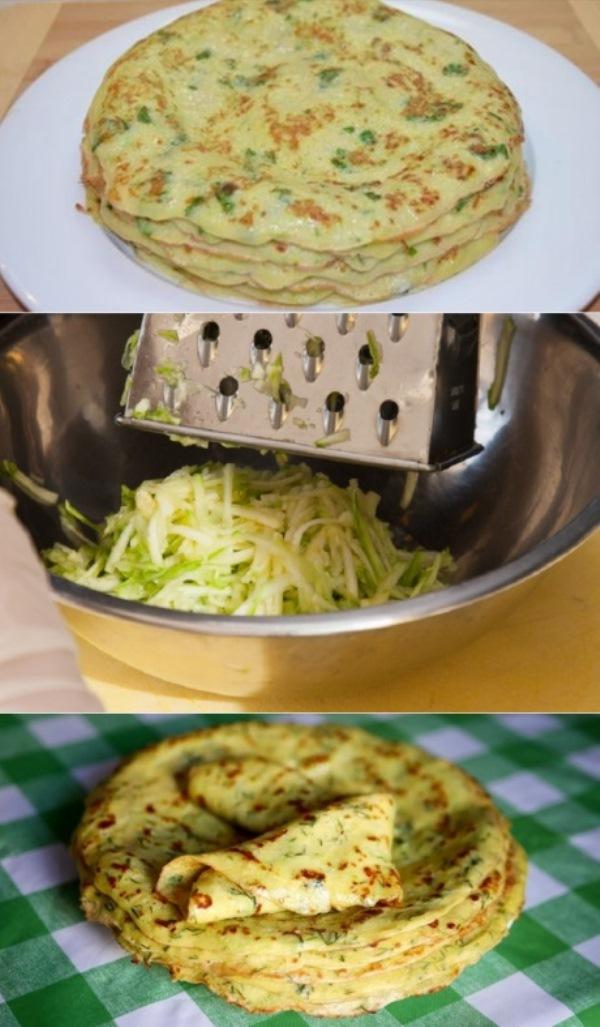 Тонкие блины из кабачков: идеальный летний рецепт. Готовлю весь кабачковый сезон.