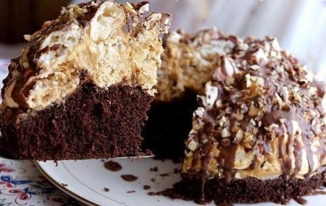 Домашний трюфельный торт покорил нашу семью. Вкус потрясающий. Попробуйте непременно.