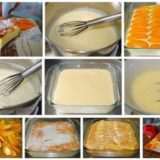 Французская манная запеканка с абрикосами. . Проверенный рецепт моей бабушки.