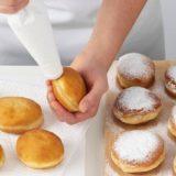 Пончики с повидлом. Звезда стола. Гости выпрашивают рецепт.