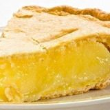 Нежный лимонный пирог