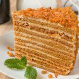 Рецепт СССР торт «Медовик». Порядком вкуснее, чем в магазине!
