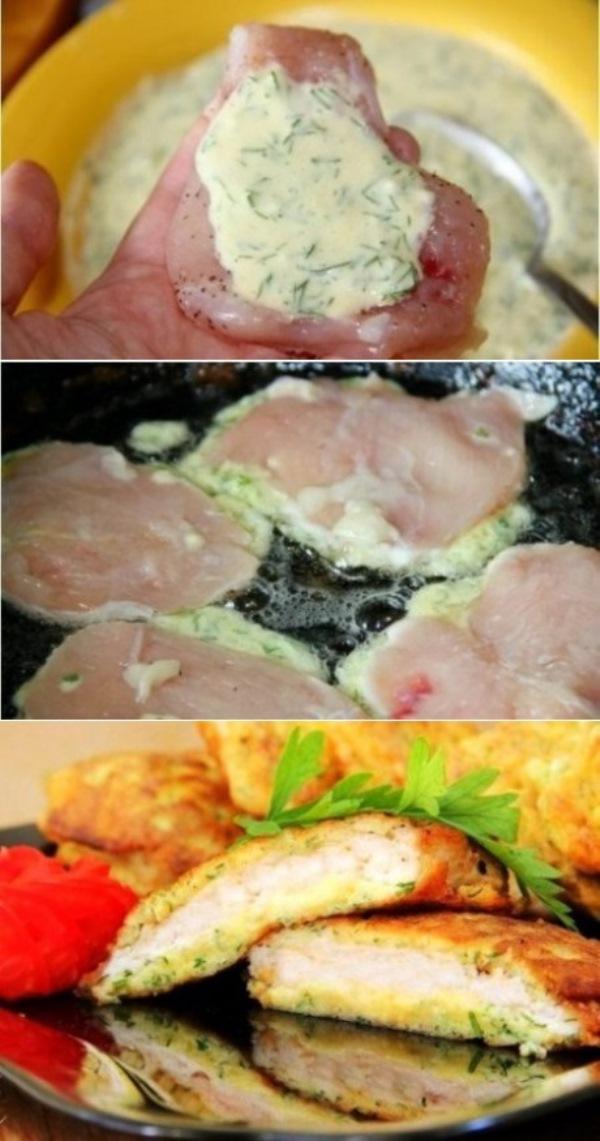 Куриные отбивные с сыром делаю частенько. Муж и детки в восторге. Мой фирменный рецепт.