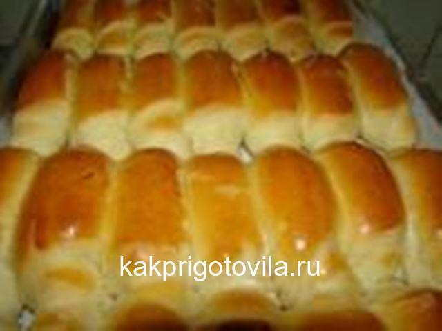 Очень вкусные воздушные булочки по вкусу как пирожное