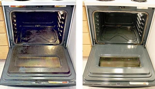 Как быстро и без труда очистить духовку от нагара