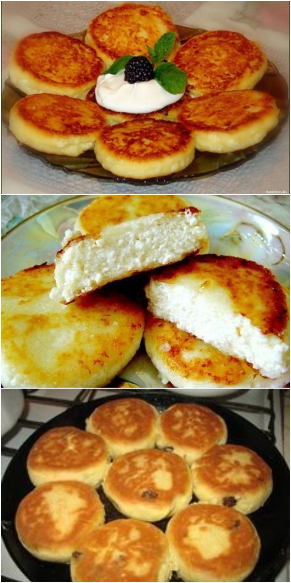 Лучшее детское блюдо с высоким содержанием кальция, которое можно использовать в качестве питательного завтрака или десерта – сырники «Воздушные».