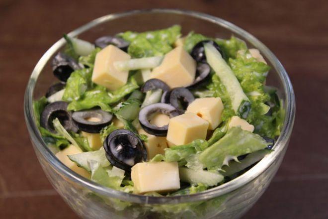 Настоящая весна в тарелке. Легкий и вкусный салатик
