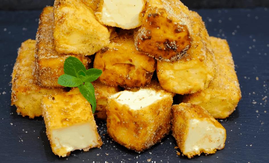 Нежный десерт из молока: просто пожарь и наслаждайся