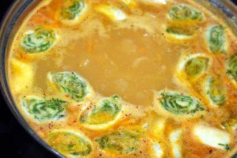 Суп со штрулями - бабулин рецепт