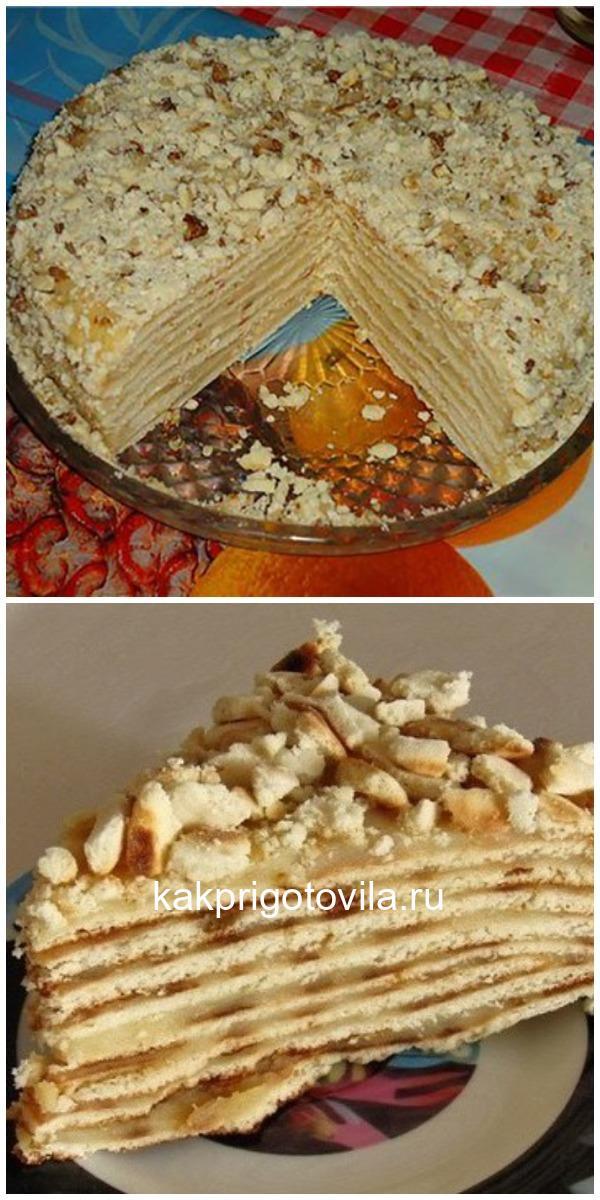 Торт без выпечки на сковороде — вкус, который не передать словами!