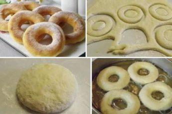 Пончики на кефире - фирменный рецепт моей мамы