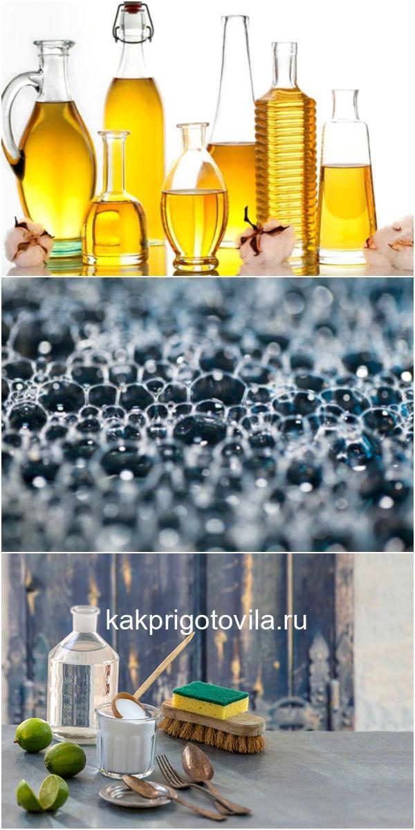 Без химии. 10 средств против жира и налета дешево и экологично