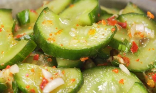 Кимчи из огурцов. Корейская кухня