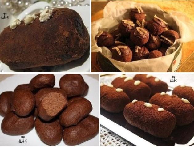 Пирожное «Картошка» — 5 рецептов