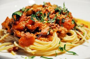 как готовить спагетти рецепт с фото