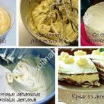 крем для торта