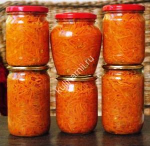 морковь по-корейски на зиму фото