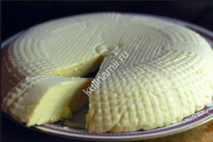 Сыр в домашних условиях фото