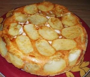 пирог  с картофелем и курицей фото